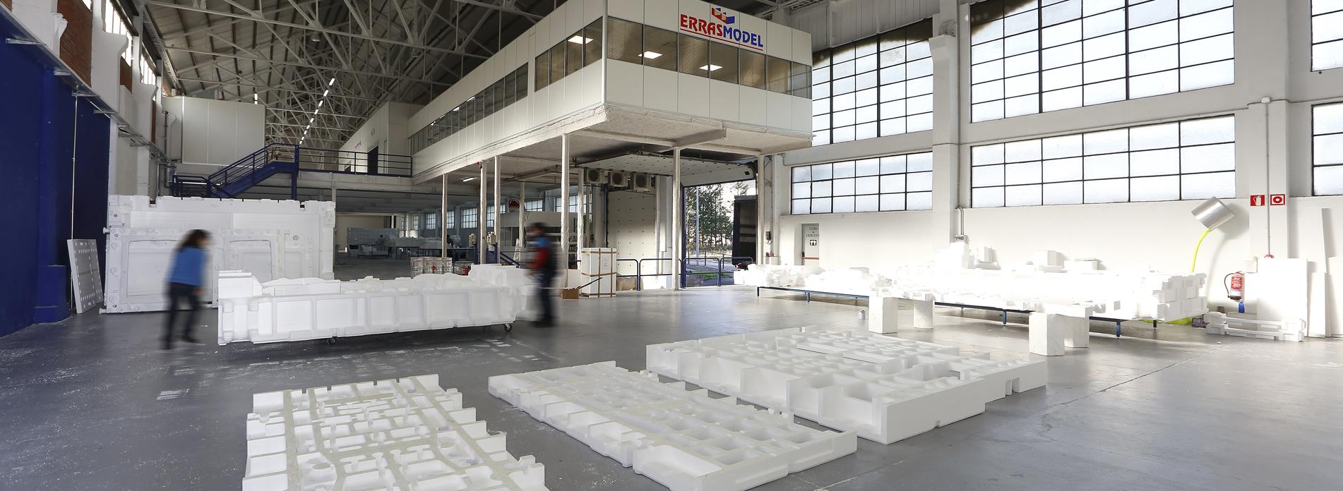 Especialistas en la fabricación de modelos de poliestireno de fundición para troquelería destinados al sector de la automoción y máquina herramienta